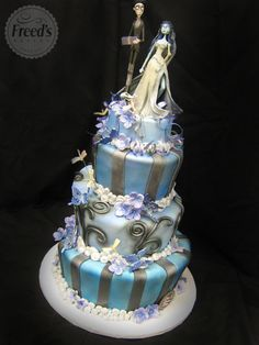 Themed Wedding Cakes | Freeds Bakery Las Vegas |