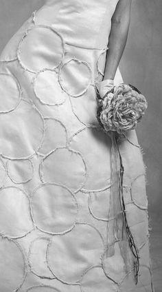 "Wedding dress ""Bubbles"" by Madre Mía del Amor Hermoso."