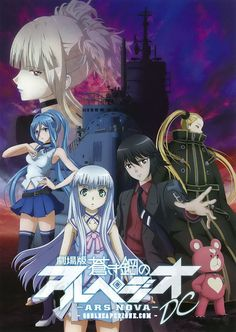 Aoki Hagane no Arpeggio: Ars Nova DC Movie Bluray [BD] 480p 400MB | 720p 700MB MKV  #AokiHaganenoArpeggioArsNovaDC  #Soulreaperzone  #Anime