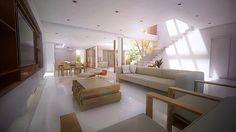 Projeto de arquitetura residencial em Florianópolis com 3 quartos ( 1 suíte) Gandhi, Divider, 1, Room, Furniture, Home Decor, Residential Architecture, Architects, Bedrooms