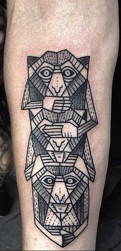 geometric tattoo designs - Penelusuran Google