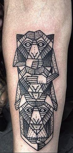 geometric tattoo designs - Penelusuran Google