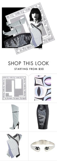 """Pucci Geometrics"" by amceren ❤ liked on Polyvore featuring Emilio Pucci, contest, pucci and amceren"