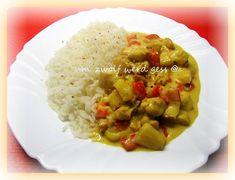 Geschnetzeltes mit Curry & Ananas