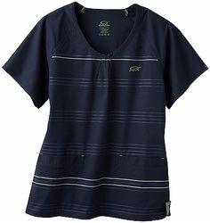 Iguanamed 5677 2-Pocket MedFlex II Stripe Top
