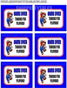 Super Mario Bros wii Birthday Boy Party by ShopPartyTales on Etsy