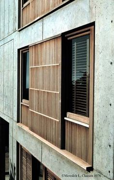 Salk Institute, Louis Kahn | ARC11. Oldies but goodies | Pinterest