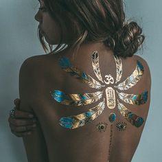 Flash tattoo #gold #tattoo