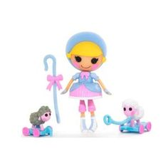 Lalaloopsy 3 Inch Mini Figure with Accessories Little Bah Peep (Toy)