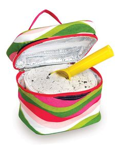 Take a look at this Wavy Watermelon Ice Cream Carrier by Picnic Plus on #zulily today!