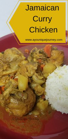 Curry Chicken is a favorite for every Jamaican. With just the right herbs and spices, it's a finger licking meal that leaves you wanting more. Go ahead and give this recipe a try. Jamaican Cuisine, Jamaican Dishes, Jamaican Recipes, Curry Recipes, Jamaican Curry Chicken, Caribbean Curry Chicken, Curry Chicken And Rice, Caribbean Recipes, Caribbean Food