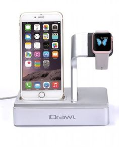 Apple Watch Stand, iPhone Docking Station Iphone Stand, Iphone Charger, Best Apple Watch, Apple Watch Bands, Iphone Docking Station, Apple Watch Iphone, Wearable Technology, Portable, 6s Plus