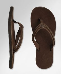 A pair of Reef sandals with arch support for days when it's too hot to walk around in flats.