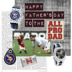 """""""Father's Day - The Sports Fan"""" by the-diamond-room on Polyvore"""