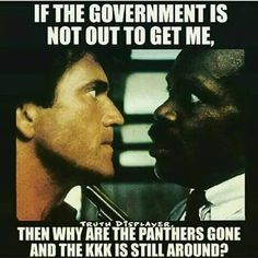 yep . Even to this day- there are no more Panthers, only the KKK, the Aryan Brotherhood ,and the Militia Men exist.