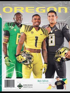 2013 Oregon Football Yearbook