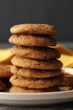 Easy Vegan Cookies, Vegan Chocolate Cookies, Vegan Peanut Butter Cookies, Vegan Treats, Vegan Foods, Vegan Snacks, Vegan Desserts, Sugar Cookies, Healthier Desserts