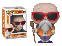 From Dragon Ball Z, Master Roshi, as a stylized Pop vinyl from Funko! Pop Dragon Ball Z Master Roshi Vinyl Figure stands 3 inches and comes in a window display box. Android 18, Pop Vinyl Figures, The Witcher, Figurine Pop Manga, Dbz, Marvel, Dragon Ball Z Goku, Kid Buu, Figurine Dragon