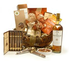 Luxury Hampers - Hampers Gift Baskets from Hampergifts.co.uk - Macallan