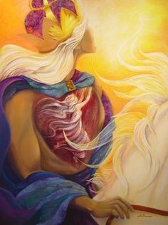 The King is coming, and His bride the Church is in His heart. Artist: F.S.HS. Priscilla Williams