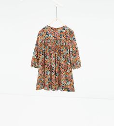 Floral dress-Dresses-DRESSES AND JUMPSUITS-GIRL | 4-14 years-KIDS | ZARA United States