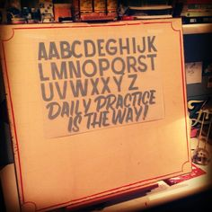 Sign Painting Colection by Caetano Calomino