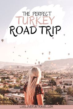 A magical hot air balloon sunrise in Cappadocia is just one of the bucket list items for a Turkey road trip. Check out the ultimate guide to exploring the best Turkey travel destinations on an epic road trip adventure! Turkey Destinations, Travel Destinations, Travel Tips, Travel Guides, Road Trip Hacks, Road Trip Essentials, Road Trips, European Travel, Asia Travel