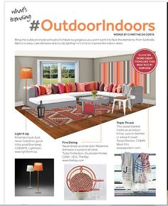 What's Trending: Bringing the outdoor in! June/July issue of Dabble Magazine