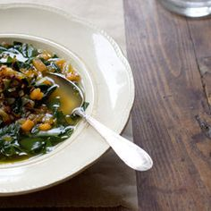 Carrot Ginger Coconut Soup and Kale Chips   Paleo Starters & Sides ...