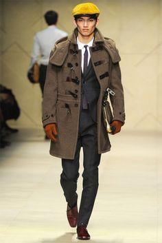 Men's Fashion Week: Burberry Prorsum FW 2012