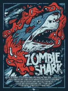 Zombie Shark (2015) BluRay 720p 600MB Ganool.AG