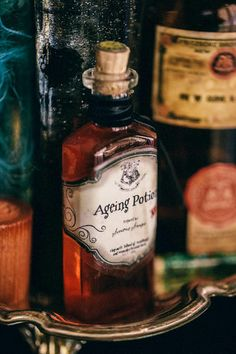 Other: DIY Harry Potter Potions for Halloween: Ageing Potion