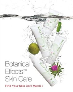 Botanical Effects Skin Care. Cleanse, Hydrate, Freshener & Mask. Comes in three formulas for all skin types. Dry. Normal. Oily.