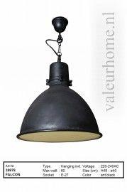 Hanglamp Falcon zwart | Hanglampen | Valeur Home Decoration