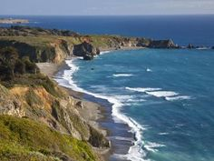 Big Sur Coastline in California, USA Photographic Print by Chuck Haney at Art.com