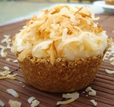 Mini coconut cream pies - I'm all over this! Love!