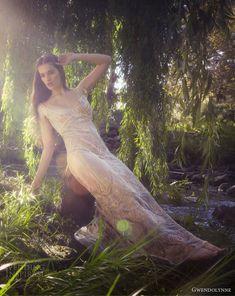 gwendolynne 2013 petra beaded sheath wedding dress deco cap sleeves