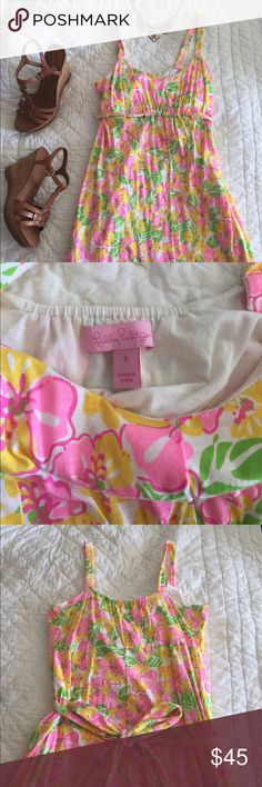 Lilly Pulitzer Sun Dress Only worn twice! Practically brand new! Perfect for Easter Sunday Lilly Pulitzer Dresses