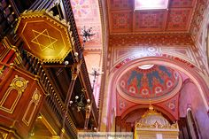 We're going to visit the largest synagogue in Europe. Because it's beautiful. Because it's historical. Because it's marvelous. And it's PINK. Religious Architecture, Hungary, Budapest, Fair Grounds, Europe, Tours, History, Gallery, Building