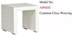 A096D2 End Table Common Close Weaving