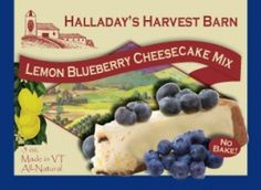 Our best- selling cheesecake yet! Plump blueberries and tangy lemon combine to make a perfectly balanced, not too sweet, refreshing dessert.