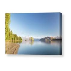 Wanaka Tree New Zealand Landscape Mountain Lake Canvas Print / Canvas Art by Joshua Small