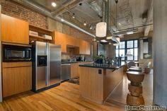 Кухня лофт | Дизайн интерьера кухни | Фотогалерея ремонта и дизайна | Школа ремонта. Ремонт своими руками. Советы профессионалов