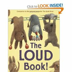 BANG! CRACKLE! BOO!Just like there are lots of quiets, there are also lots of louds;  Good louds (HOORAY!) and bad louds (CRASH!)