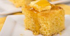 Savory cakes without measuring - Clean Eating Snacks Buttermilk Cornbread, Homemade Cornbread, Sweet Cornbread, Flapjack Recipe, Peach Cake, Savoury Cake, Different Recipes, Clean Eating Snacks, Cinnamon Rolls