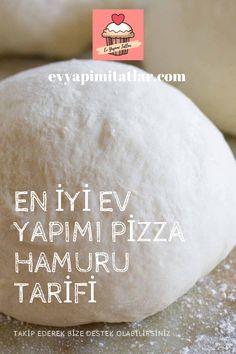 Pizza seven bir aile iseniz ve kendi pizzanızı evde yapıyorsanız, her zaman iyi bir pizza hamuru tarifi arayışında olacaksınız. Turkish Pizza, Cooking Recipes, Food And Drink, Eat, Check, Cooker Recipes, Food Recipes