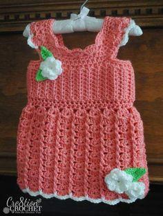 free crochet pattern toddler tank top- Oh La La #cre8tioncrochet