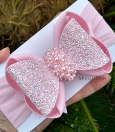 Baby Hair Clips, Baby Hair Bows, Ribbon Hair Bows, Felt Hair Accessories, Making Bracelets With Beads, Bow Template, Paper Flowers Craft, Fabric Flower Tutorial, Making Hair Bows