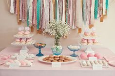 Wonderful:  Pink & Acqua B-day Party