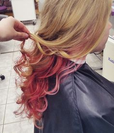Hidden subtle red hair colors